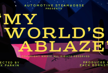 Music Video: My Worlds Ablaze