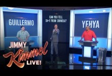 Jimmy Kimmel Live: Can You Tell S#*t from Shinola?