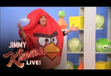 Prank: Aunt Chippy Angry Birds Review