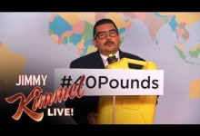 PSA: Guillermo Takes The #40Pounds Challenge